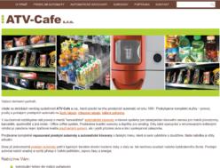 Katalog prodejních automatů ATV-Cafe