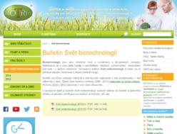 Bulletin Svět biotechnologií