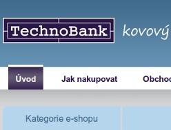 Kovový nábytek TechnoBank