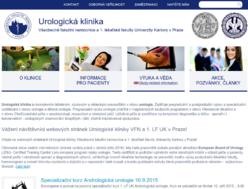 Webové stránky Urologické kliniky
